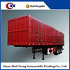 Hot Selling High Quality 3 Axles 60Ton Enclosed Van Cargo Box Trailer