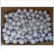 2016 High quality producer logo custom print golf bal, driving range golf ball