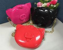 2015 Latest Design Fashion Animal Shape Hand Bag and Purse Stylish Women Brand Name Handbags Leather Purse