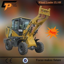 One Ton ZL10 Loader Mini for Sale, Articulated Loader Machine Made in China
