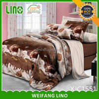 bed sheets 3d/cushion cover/home choice bedding