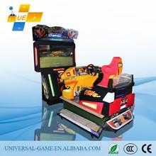 2015 Guangzhou 4D Sonic Car Racing Coin Operated Simulator Racing Game Machines Factory