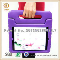 Children shockproof foam eva case cover for apple ipad air with handle