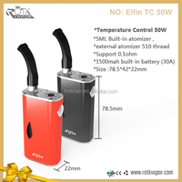 2015 china factory best selling products e cigarette wholesale new design high power box mod Elfin 50w box mod