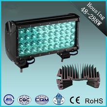 Hot sale 48--288w off road aluminum led light bar lamp shell