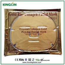 2015 HOT sale whitening collagen crystal 24k gold facial mask