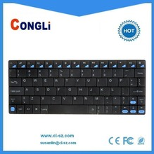 Mini bluetooth keyboard,universal and portable, backcase made of Aluminium alloy