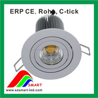 7W China China Manufacturer High Power Surface Mounted Recessed Dimmable downlight led