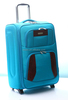 new design 600Dtwill hot sell trolley luggage with two wheels