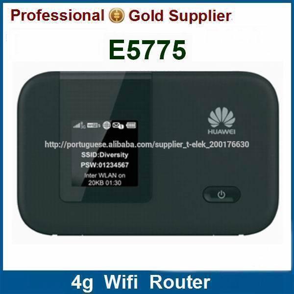 huawei E5775 DC-HSPA+ LTE Cat4 4g roteador wi-fi móvel