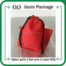 2015 hot sell high quality canvas drawstring bags pouch wholesale