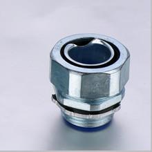 Zinc alloy end style union connector for flexible conduit