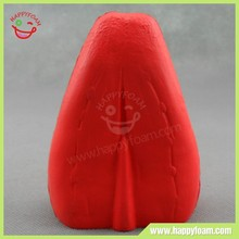 Anti tongue shape pu stress ball