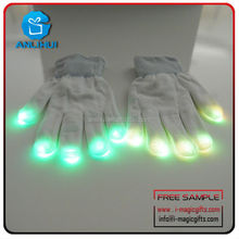 Promotion gifts led party gloves item made in China
