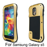 Free Shipping Metal Case Mobile Phone Casing Cover for Samsung Galaxy S5