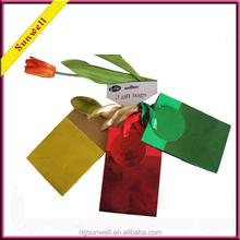 Dongguan 2015 gift packaging customized paper gift bag&mini handy paper bag christmas sacks