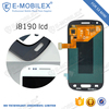[E-MobileX LCD] buy wholesale direct from china lcd display with digitizer for Galaxy S3 mini i8190 lcd digitizer touch screen a