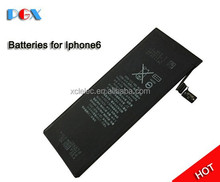 china for apple mobile phone batteries with price, for iphone battery original for iphone6