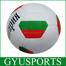 GYB-711 Wholesale high quality official size and weight bulk colorful machine stitched street soccer ball