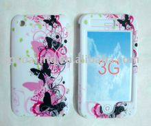 Butterfly hard case skin faceplate cover for iphone 3g,3gs
