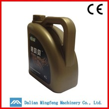 5L HDPE screw cap plastic oil drum/petrol jerry can