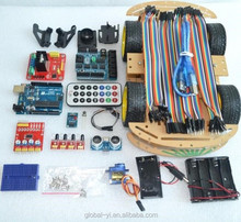 Bluetooth Controlled Robot Car Kits Tons of Published Free Codes UNO R3 MEGA328P For Audrino Robot Development Sensor Boards