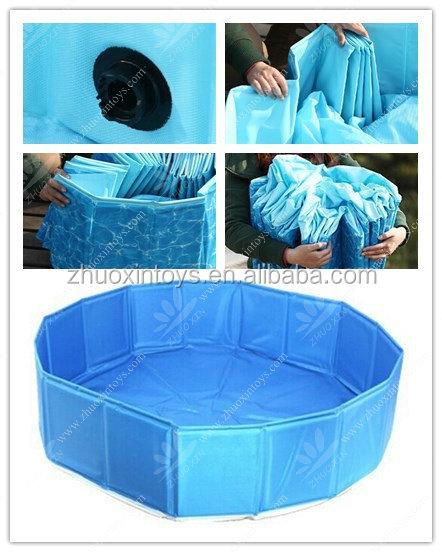 Chien en plastique piscine extra robuste piscine pour for Piscine plastique