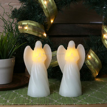 Votive Candles angle pray battery operated flicking candles