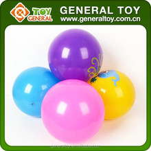different size best quality wholesale customized design logo outdoor kids sport hollow stress pit balls LDPE plastic toys