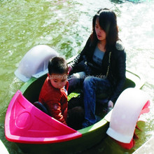Best selling parents and kids small plastic hand paddle boats for sale(M-007)