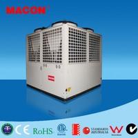 Macon EVI DC inverter high cop air source heat pump with r410 all climate heat pump