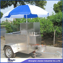 2015 Shanghai JX-HS110 mobile food truck for sale /outside fast food/electric street vending carts