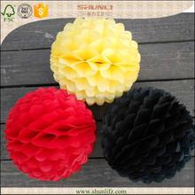 Halloween decoration adorable craft tissue paper Honeycomb flower balls