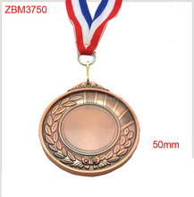 2015 best selling 65mm bronze sport blank medals/whoesale bronze 65mm cheap sport medals metal medals on sale