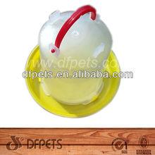 Plástico Pet bebedor para a galinha 3kgs DF-D004