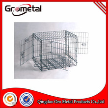 Recommended portable foldable metal wire pet cage dog crate