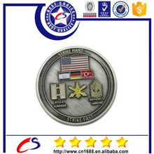 Manufacturer for gold metal souvenir coin/coin maker