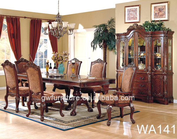 Cheap Dining Tables For Sale Traditional Carved Dining Set WA147