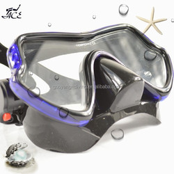 ACE anti fog great tempered glass crystal strap transparent lens mask