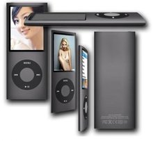 8 GB MP3 MP4 Player (4th Gen) With Built In FM Radio, FREE USB Cable, Rubber Case & Earphones