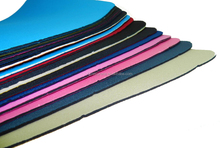 0.5mm 1mm 2mm 3mm embossed perforated color neoprene fabric