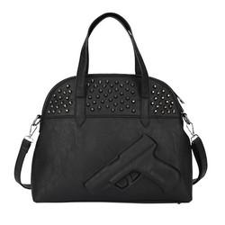 New Women Lady Fashion Rivet Tote Hand Bag Portable Double Straps handbag Shoulder Bag SV016977