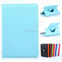 New Coming Litchi Design Rotating Stand PU Leather Case For iPad Mini 4