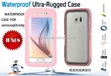 2015 Mobile Phone Case waterproof case for samsung galaxy S6/S6 edge