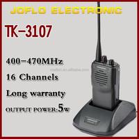 Factory price handheld long rang UHF 400-470MHZ walkie talkie TK-3107