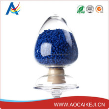 Blue masterbatch / concentrates with ABS/PET/LDPE/HDPE pipe pellet/ granule low price
