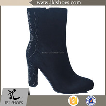 most popular animal embroidery cheap unique winter boots for customized