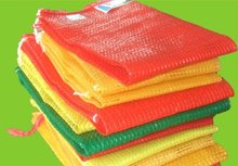 Knitted 100% New Material Fruit and Vegetable plastic mesh bag