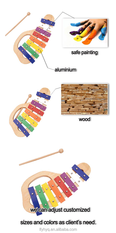 Kpop mercadorias xilofone, Instrumento Musical glockenspiel piano de brinquedo