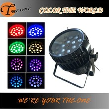 RGBW waterproof zoom led par can new party decoration 2015